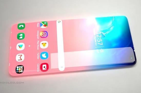 外网曝光了一组将于2025年推出的概念手机