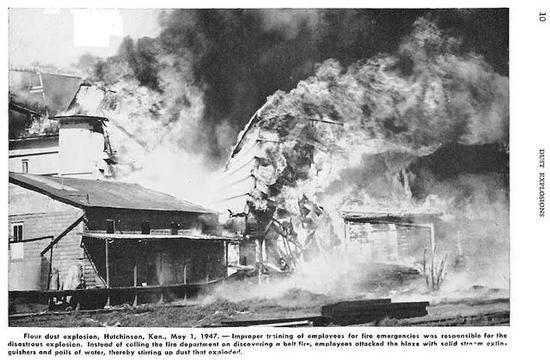 面粉厂发生爆炸(图片来源:wiki)