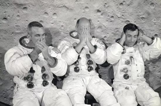 就是这三名宇航员(图片来源:NASA)