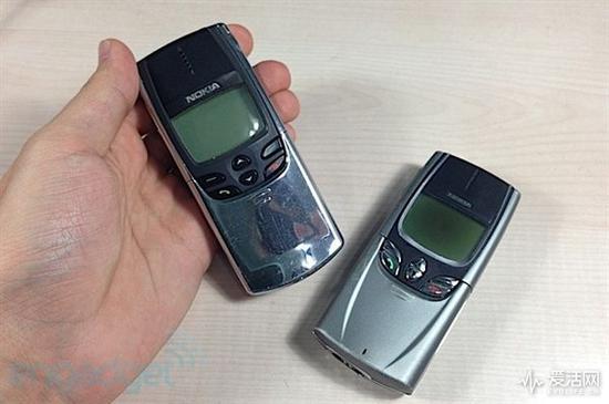 诺基亚8110与8850