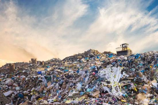 垃圾污染(图片来源:Veer图库)
