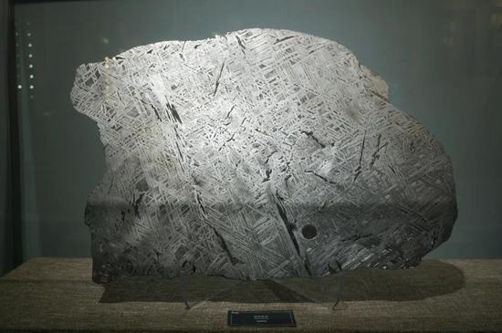 镍铁陨石(中国地质博物馆展品)