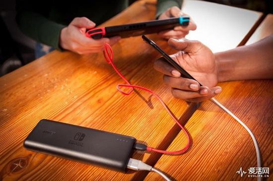 Switch没电不怕 Anker充电宝能给它续命15小时