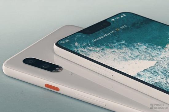 谷歌Pixel 3 XL原型机曝光:刘海屏+单摄+4GB