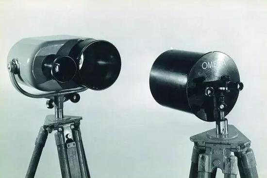 图7 1948年伦敦奥运会上使用的终点摄影机