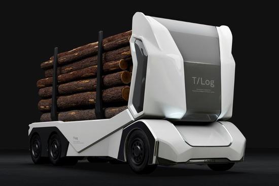 Einride的T-Log新型无人驾驶卡车