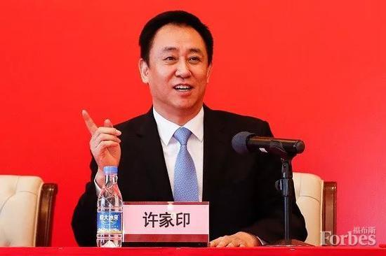 恒大集团掌门人许家印主席不遗余力投入慈善事业。图片来源:视觉中国