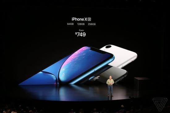 仅iPhone Xr取消了3D Touch