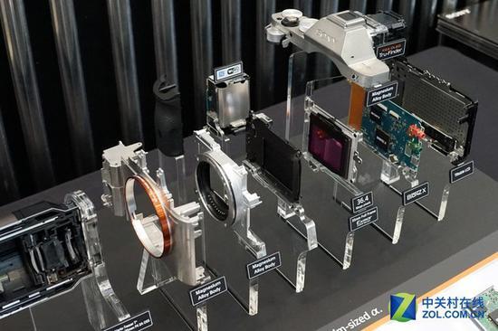 机身模块化可以分为:机身整体、传感器、电力系统与取景系统