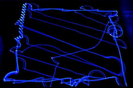 之前测试过的激光扫地机路线