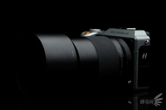 哈苏XCD80mm f/1.9搭配哈苏X1D-50C(搭配遮光罩)