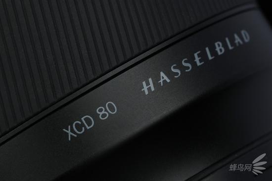 哈苏XCD80mm f/1.9的型号以及品牌标识