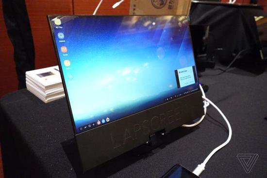"Lapscreen:一款""轻薄如纸""的12.5英寸USB-C显示器"