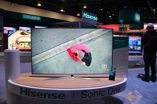 海信2019 CES推出最薄电视一体机