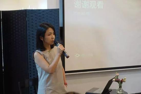网易人工智能事业部总经理李晓燕