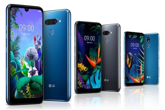 LG发布三款中端机型:后置三摄+水滴屏 防水防尘