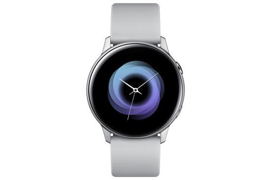 三星Galaxy Watch Active发布:圆形表盘 设计优雅 3月8日上市