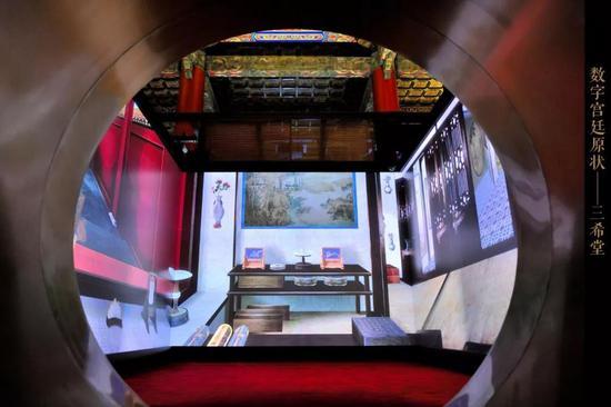 端门数字博物馆利用虚拟现实等技术复原故宫原貌。