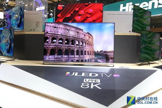 海信则是多分区背光ULED电视,并研发了自己的芯片