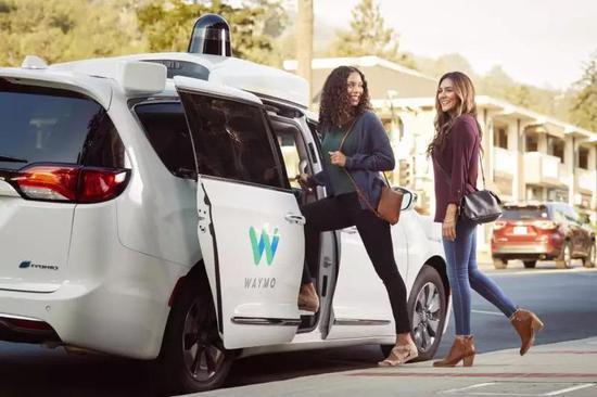 (Waymo One:自动驾驶出租车项目,图片来自网络,版权属于原作者)