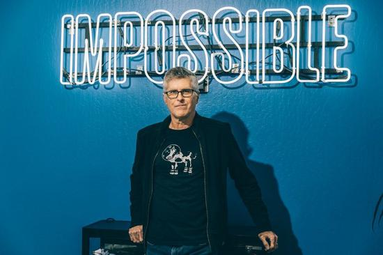 ▲ Impossible Foods 公司创办人布朗,图片来自纽约时报