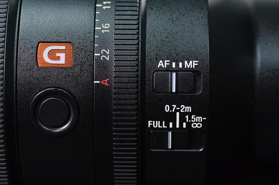 AF/MF切换以及对焦距离限位器