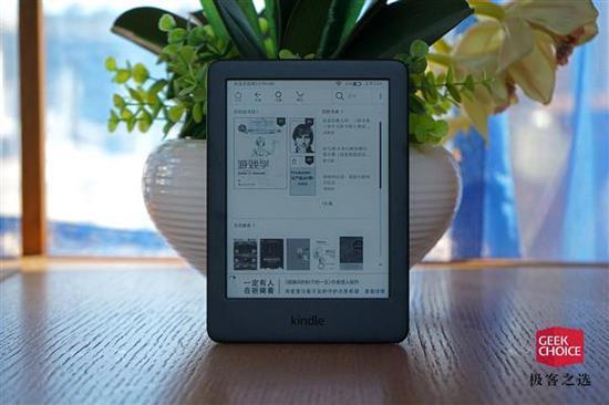 亚马逊Kindle青春版图赏:背光加持、目前最轻最便宜