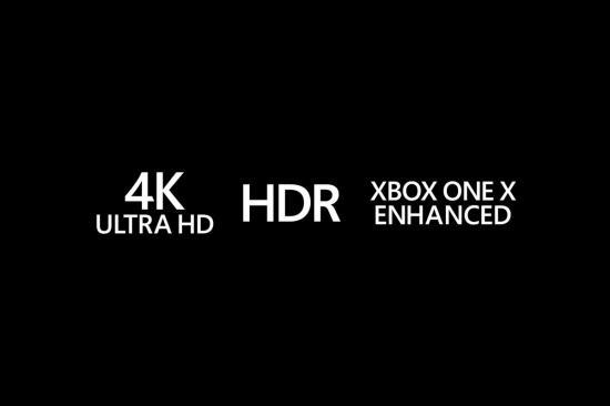 X BOX ONE X仅支持4K