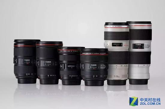 大三元和幼三元是最常用的镜头
