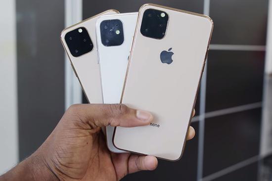 三款新iPhone机模全家福
