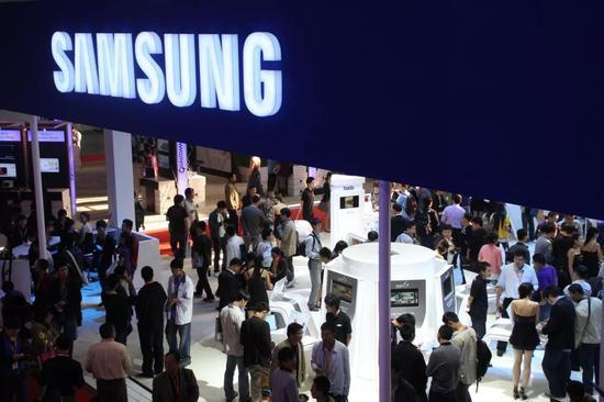 2010年,三星在中國國際信息通信展覽會上還是一派繁榮景象。/圖蟲創意