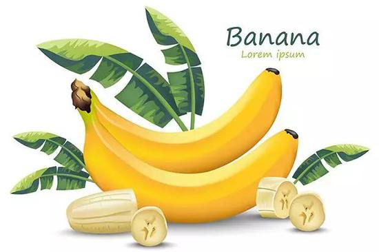 香蕉插画(来源:Freepik.com)