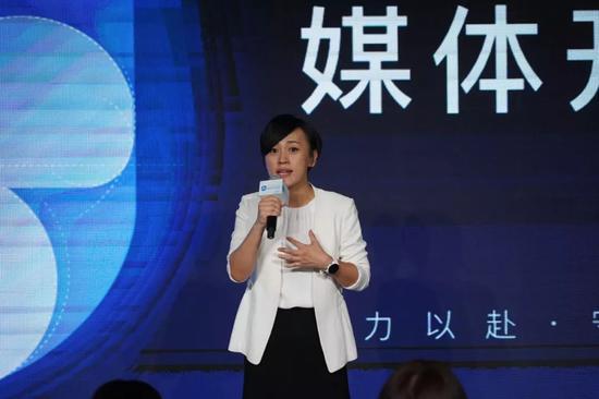 """充当""""首席反思官""""的总裁刘青。"""