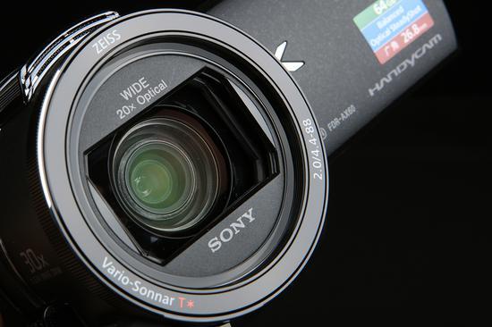 索尼4K摄像机AX60镜头