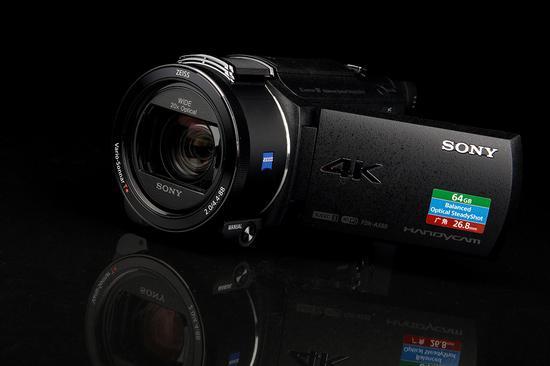 索尼4K摄像机AX60