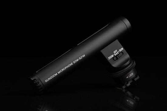 索尼枪形变焦麦克风ECM-GZ1M