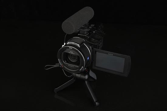 索尼4K摄像机AX60手柄麦克风套装