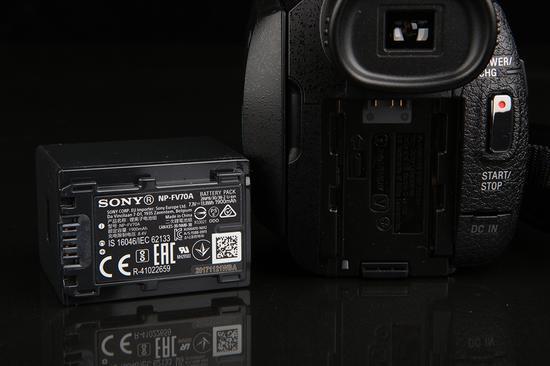 索尼4K摄像机AX60电池