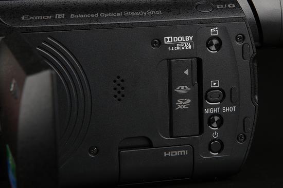 索尼4K摄像机AX60内部控制区