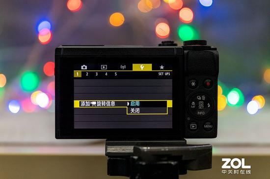 G7 X Mark III支持视频竖拍信息记录