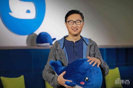 ▲微鲸CEO李怀宇