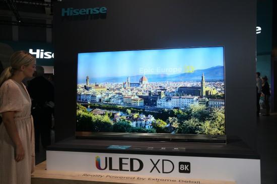海信75吋8K叠屏电视