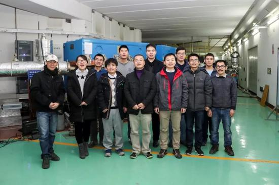 CSR精细核谱学研究团队部分成员,(图片来源:近代物理所提供)