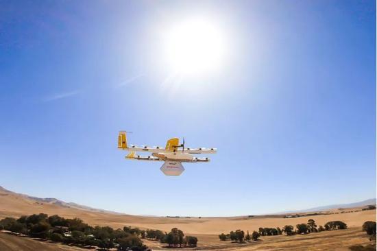 Wing宣布将于今年10月开展无人机首次试点服务
