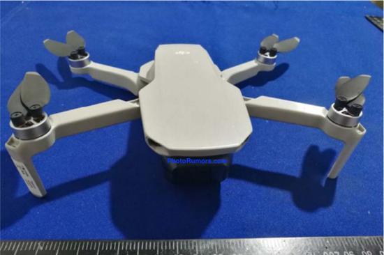大疆新款小型无人机大疆Mavic Mini即将上市