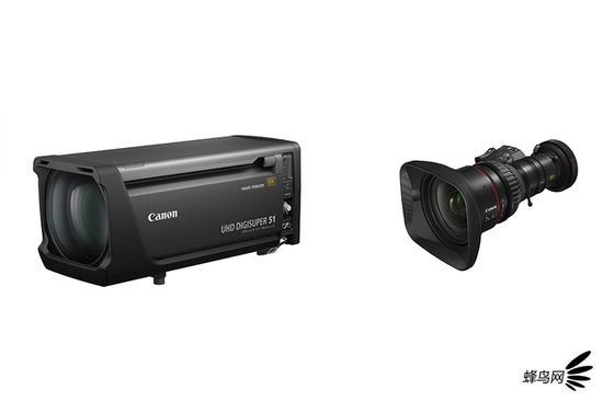 佳能对外发售两款支持8K广播电视拍摄的新变焦镜头...