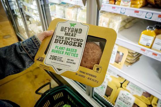 人造肉領域第一家上市公司Beyond Meat的產品。