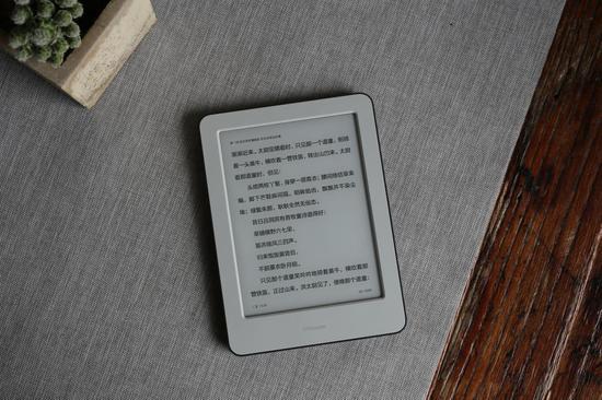小米推出首款电子阅读器,采用6英寸212ppi高清电子墨水屏设计
