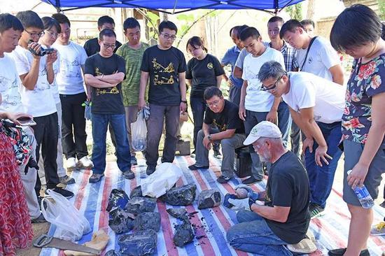 2018年石器打制技术培训班