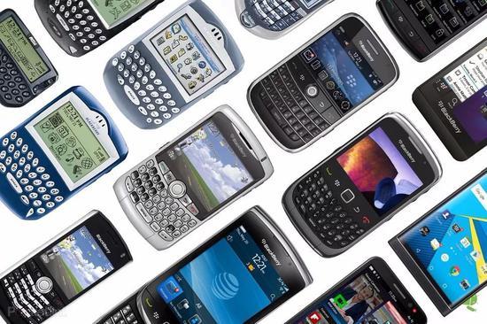 ▲黑莓手機